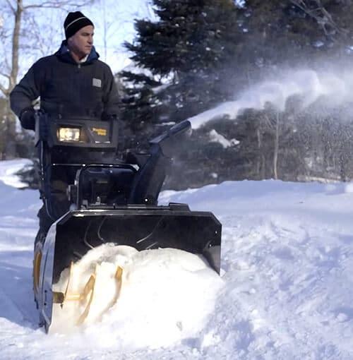poulan pr241 snow thrower